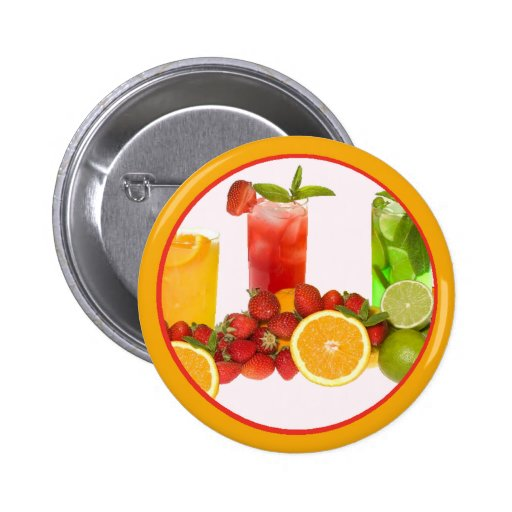Tropical Fruit Button