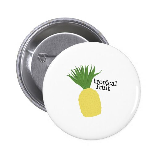 Tropical Fruit Pinback Button