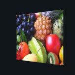 """Tropical Fruit Canvas Print<br><div class=""""desc"""">Colorful tropical fruit photograph.</div>"""