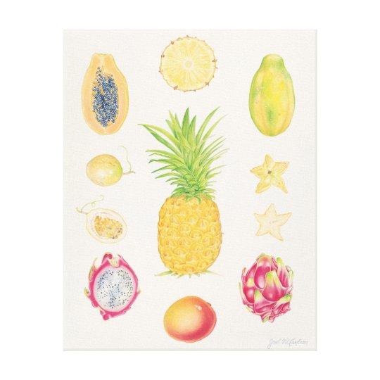 Tropical Fruit I Canvas Print