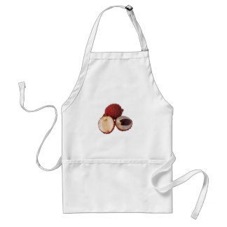 Tropical fruit - Lychee Adult Apron
