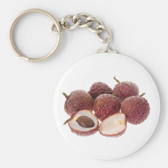 Tropical fruit - Lychees Keychain