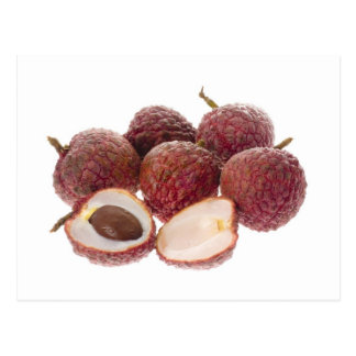 Tropical fruit - Lychees Postcard