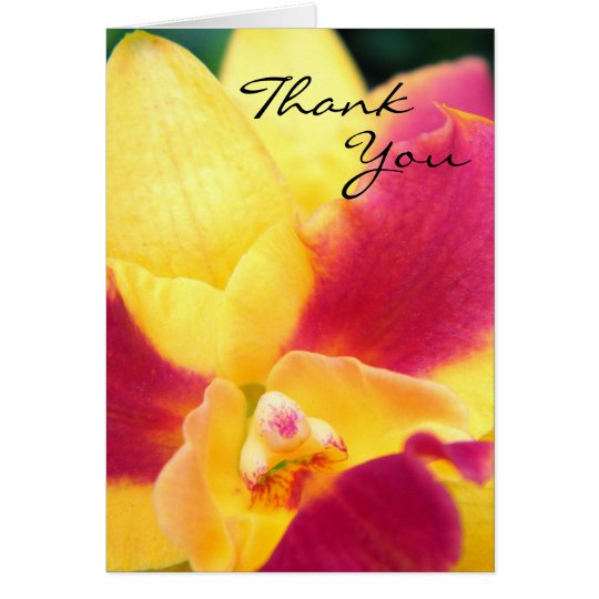 Tropical Fruit Punch - Thank You Card