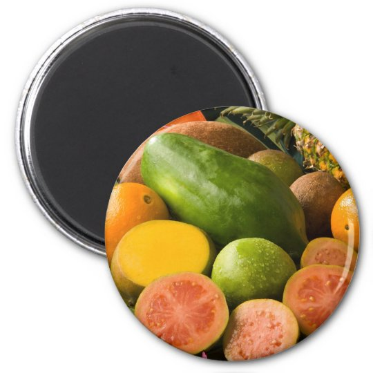 Tropical Fruits Magnet