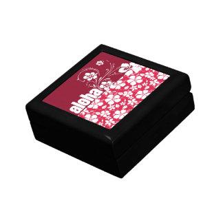Tropical Fuschia Hibiscus; Aloha Gift Boxes
