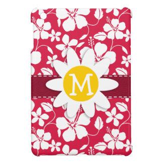 Tropical Fuschia Hibiscus; Daisy iPad Mini Covers