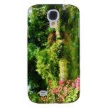 Tropical Garden by Lake Samsung Galaxy S4 Cover