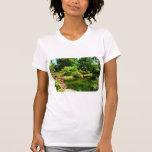 Tropical Garden by Lake Shirts