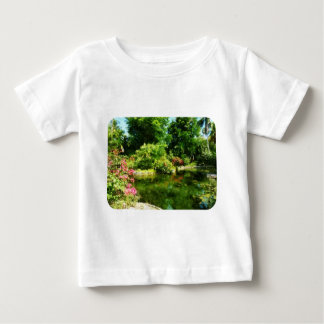 Tropical Garden by Lake Infant T-shirt