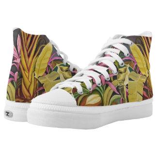 Tropical Garden High Tops Shoes