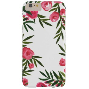 Beach Themed Tropical Garden iPhone Case - Pink