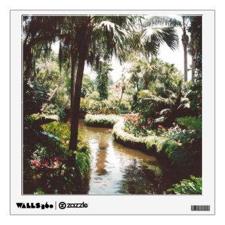 Tropical Garden Paradise Wall Sticker