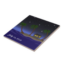 Tropical Gift / Memorabilia - SRF Ceramic Tile