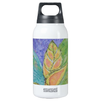 Tropical Ginger Flower Insulated Water Bottle
