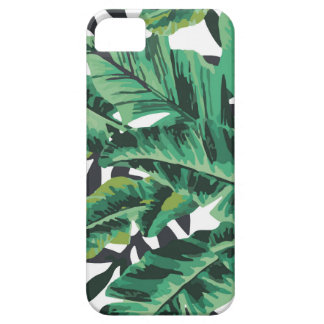 Tropical Glam Banana Leaf Pattern iPhone SE/5/5s Case