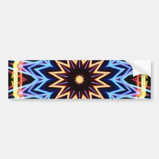 Tropical Glowsticks Bumper Sticker