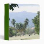 Tropical Golf Course Binder