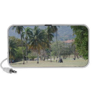 Tropical Golf Course Portable Speakers