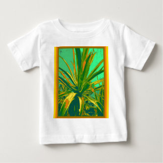 Tropical Green Agave Gifts by Sharles Baby T-Shirt