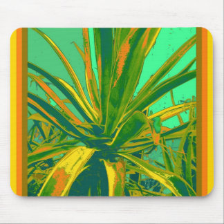 Tropical Green Agave Gifts by Sharles Mouse Pad