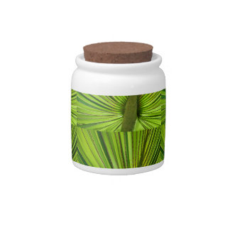 Tropical Green Candy Dish