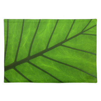 Tropical Green Leaf Place Mat