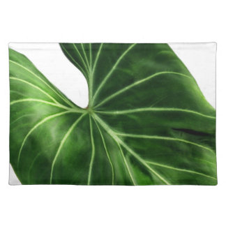 Tropical Green Leaf Placemat