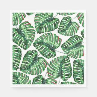 Tropical Greenery Paper Napkin