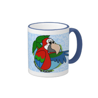 Tropical Greenwing Macaw Mug