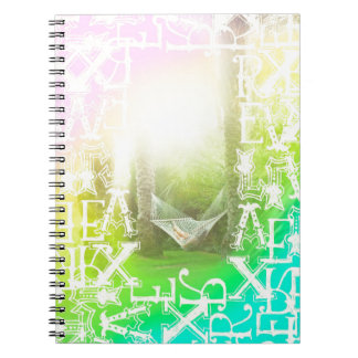 Tropical Hammock Relax Notebook
