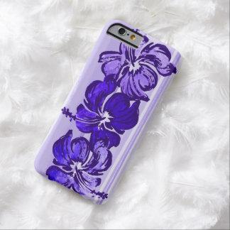 Tropical hawaiano del hibisco de la acuarela funda de iPhone 6 barely there