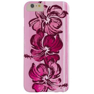 Tropical hawaiano del hibisco de la acuarela funda para iPhone 6 plus barely there