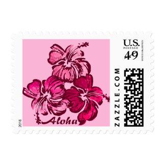 Tropical hawaiano del hibisco de la acuarela envio