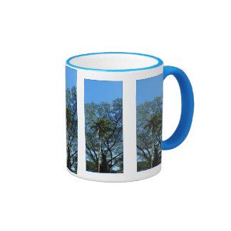 Tropical Hawaii Ringer Coffee Mug