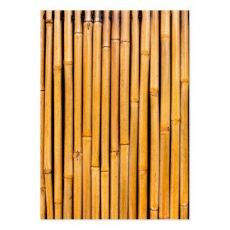 Tropical Hawaiian Bamboo Background Template Large Business Card