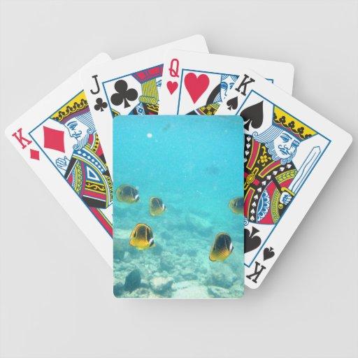 Tropical Hawaiian Fish Playing Cards