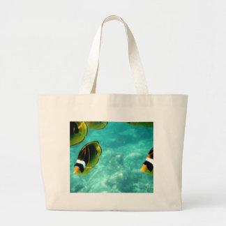 Tropical Hawaiian Fish Tote Bags