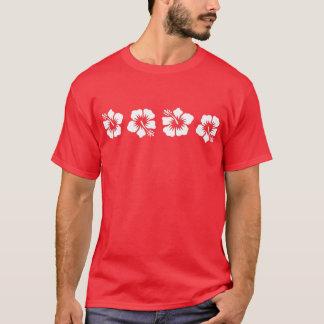 Tropical Hawaiian Hibiscus T-Shirt