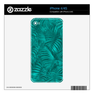 Tropical Hawaiian Pattern iPhone 4S Decal