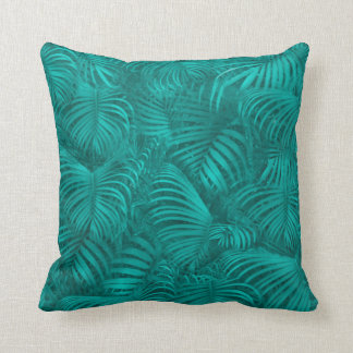 Tropical Hawaiian Pattern Throw Pillow