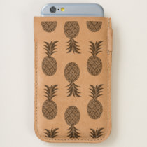Tropical Hawaiian Pineapples Pattern iPhone 6/6S Case