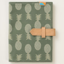 Tropical Hawaiian Pineapples Pattern Journal