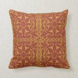 """Tropical Hawaiian Quilt 20""""x20"""" Pillow"""