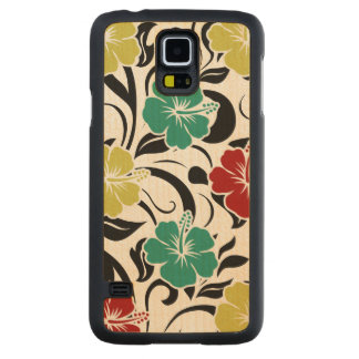 Tropical Hawaiian Theme Gakaxy S5 Cases
