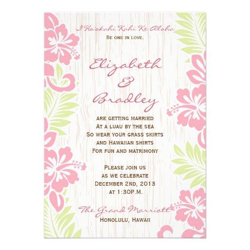 1,000+ Hawaiian Wedding Invitations, Hawaiian Wedding