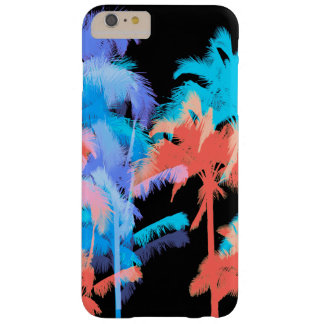 Tropical Heat Wave Neon Hawaiian Palm Trees Barely There iPhone 6 Plus Case