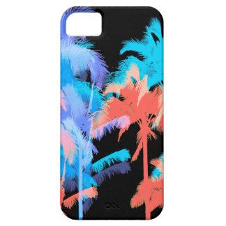 Tropical Heat Wave Neon Hawaiian Palm Trees iPhone SE/5/5s Case