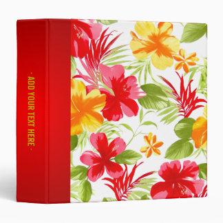 Tropical Hibiscus binder