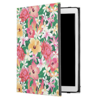 Tropical Hibiscus Floral Pattern iPad Pro Case